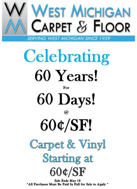 Flooring Experts For Over 60 Years In Hart Mi Wm Carpet