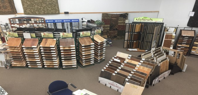WM Carpet Store Tile Showroom | West Michigan Carpet Center