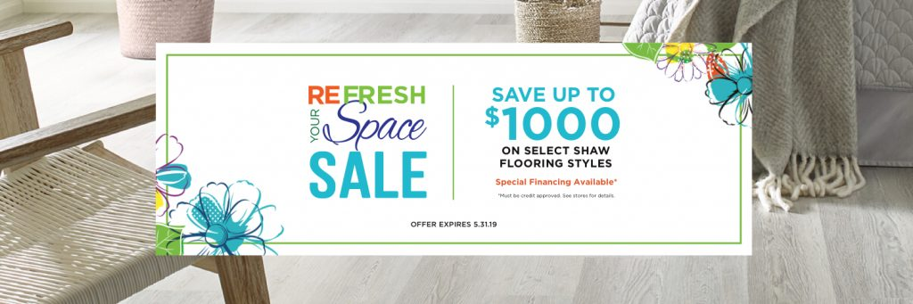 Refresh Your Space Sale | West Michigan Carpet Center