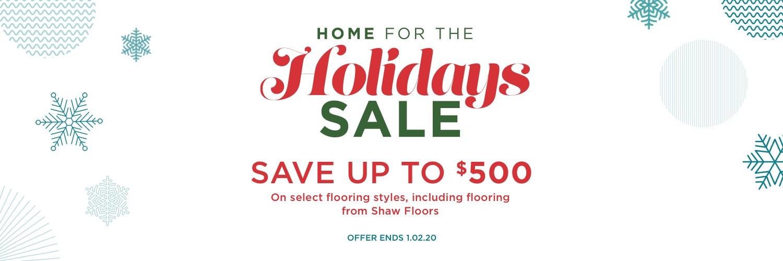 Holiday Sale | West Michigan Carpet Center