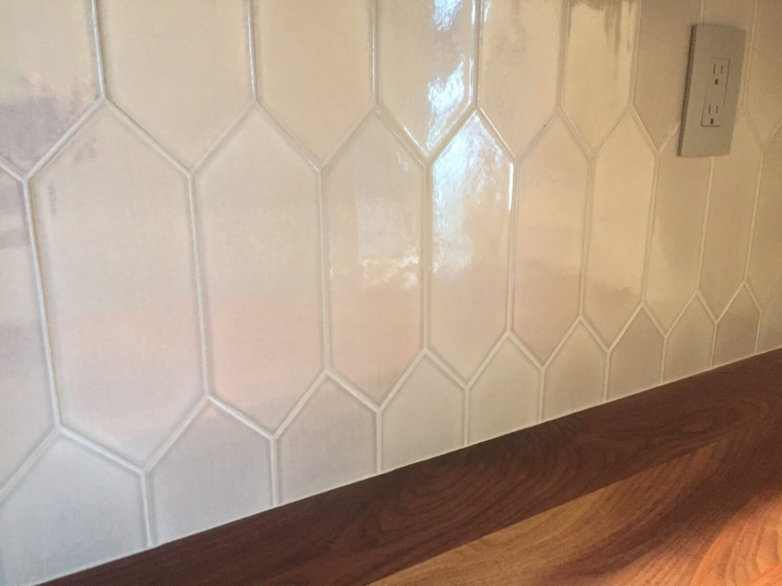 Tile backsplash | West Michigan Carpet Center