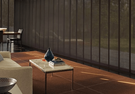 Panel track blinds | West Michigan Carpet Center