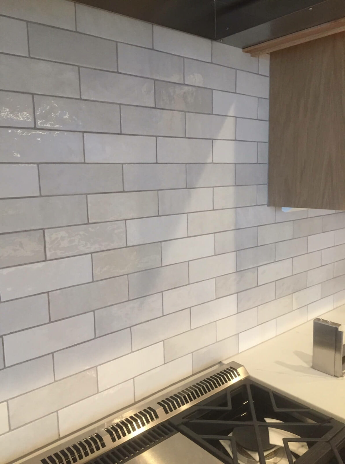 Tile backslpash in the kitchen | West Michigan Carpet Center