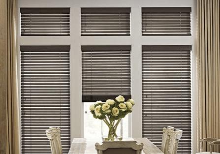 Wooden blinds | West Michigan Carpet Center