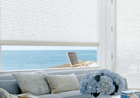 Sea view from window | West Michigan Carpet Center